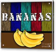 Bananas Acrylic Print by Marvin Blaine