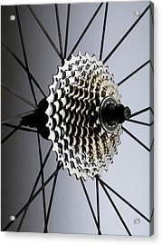 Bicycle Cassette Acrylic Print by Science Photo Library