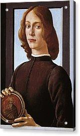 Botticelli, Alessandro Di Mariano Dei Acrylic Print by Everett