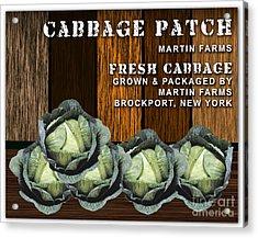 Cabbage Farm Acrylic Print by Marvin Blaine