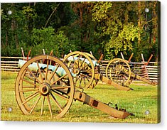 Cannon At Stones River National Acrylic Print by Brian Jannsen