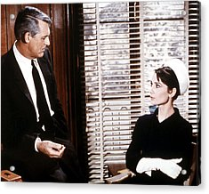 Charade  Acrylic Print by Silver Screen