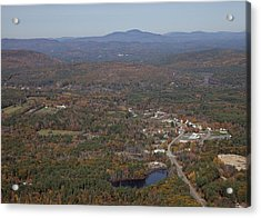Concord Outskirts, New Hampshire Acrylic Print by Dave Cleaveland