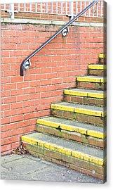 Concrete Steps Acrylic Print by Tom Gowanlock