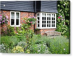 Cottage Garden Acrylic Print by Tom Gowanlock