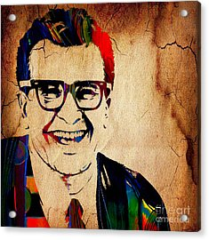 Dave Brubeck Collection Acrylic Print by Marvin Blaine
