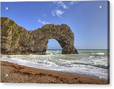 Durdle Door Acrylic Print by Joana Kruse