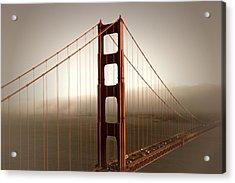 Lovely Golden Gate Bridge Acrylic Print by Melanie Viola
