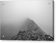Helvellyn Acrylic Print by Mike Taylor