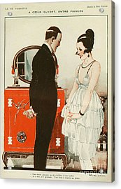 La Vie Parisienne 1919 1910s France Cc Acrylic Print by The Advertising Archives