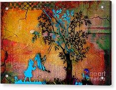 Leaves Acrylic Print by Marvin Blaine