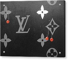 Louis Vuitton  Acrylic Print by Robert Cunningham