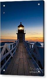 Marshall Point Light Acrylic Print by Brian Jannsen