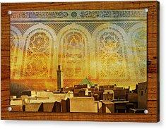 Medina Of Faz Acrylic Print by Catf