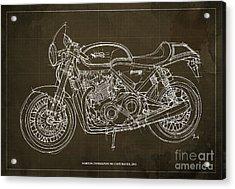 Norton Commando 961 Cafe Racer 2011 Acrylic Print by Pablo Franchi