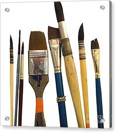 Paintbrush Acrylic Print by Bernard Jaubert