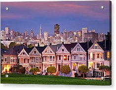 Painted Ladies Acrylic Print by Brian Jannsen