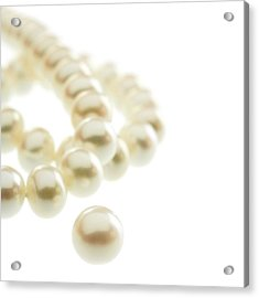 Pearls Acrylic Print by Science Photo Library