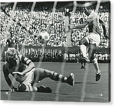 Pele Acrylic Print by Retro Images Archive