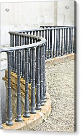 Railings Acrylic Print by Tom Gowanlock