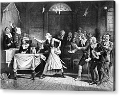 Salem Witch Trial, 1692 Acrylic Print by Granger