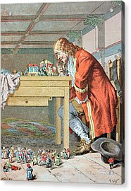 Scene From Gullivers Travels Acrylic Print by Frederic Lix