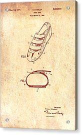 Sport Shoe Patent 1971 Acrylic Print by Mountain Dreams