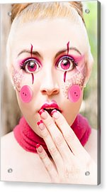 Surprised Acrylic Print by Jorgo Photography - Wall Art Gallery
