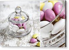 Sweet Candy Acrylic Print by Nailia Schwarz