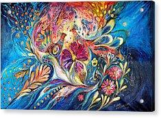The Flowers Of Sea Acrylic Print by Elena Kotliarker