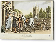 The Tour Of Doctor Syntax Acrylic Print by British Library
