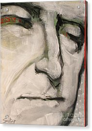 3.  Thomas Jefferson Acrylic Print by Cindy Suter