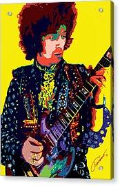 Transcendent Clapton Acrylic Print by John Travisano