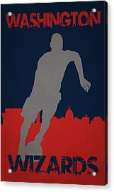 Washington Wizards Acrylic Print by Joe Hamilton