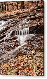 Waterfall  Acrylic Print by HD Connelly