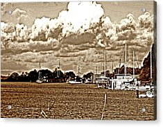 30 Percent Chance Of Rain Acrylic Print by Joseph Coulombe