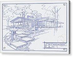 301 Cypress Drive Acrylic Print by Larry Hunter