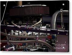 '31 Crown Victoria Engine Acrylic Print by Sean Stauffer