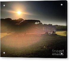 322 Olds Ghost Acrylic Print by Garren Zanker