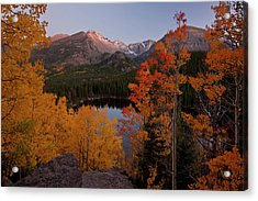 Usa, Colorado, Rocky Mountain National Acrylic Print by Jaynes Gallery