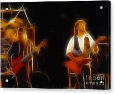 38 Special-94-larry N Jeff-gb20a-fractal Acrylic Print by Gary Gingrich Galleries