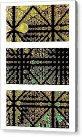 3d Spheres Acrylic Print by Susan Leggett