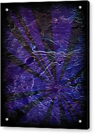 Abstract 95 Acrylic Print by J D Owen