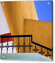 Architectural Detail Acrylic Print by Carol Leigh