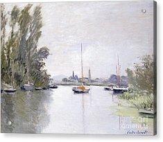 Argenteuil Acrylic Print by Claude Monet