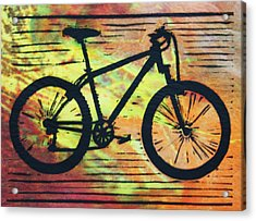 Bike 10 Acrylic Print by William Cauthern