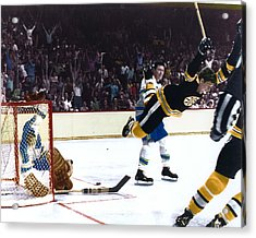 Bobby Orr Acrylic Print by Retro Images Archive