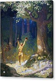 Cooper: Deerslayer, 1925 Acrylic Print by Granger