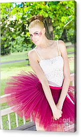 Dancer Acrylic Print by Jorgo Photography - Wall Art Gallery