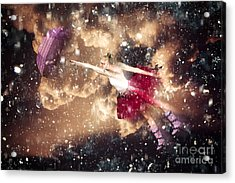 Dancing In The Rain Acrylic Print by Jorgo Photography - Wall Art Gallery